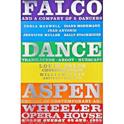 Robert Indiana, 'FALCO Dance Company (Hand Signed/Dedicated)', 1968