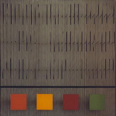 Jesús Rafael Soto, 'Color y tes', 1994