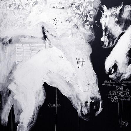 Soly Cissé, 'Untitled Horse A', 2007