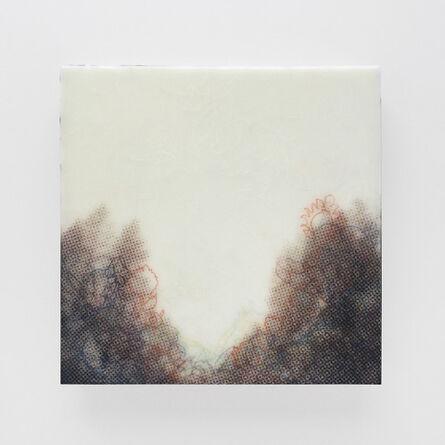 Karen Gallagher Iverson, 'Crest From Below, Tahoe Tree Line 1', 2017