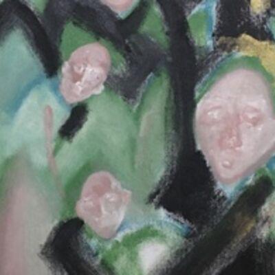 Ilija Gubic, 'Three Handed Women', 2019