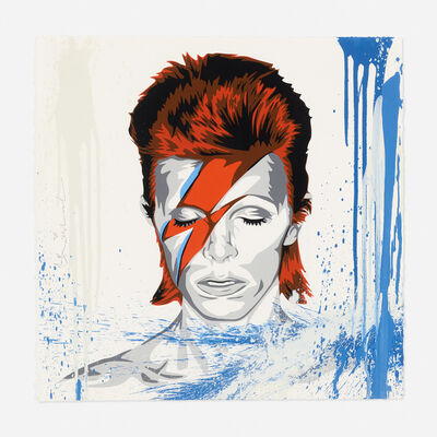 Mr. Brainwash, 'Life is Beautiful (David Bowie)', 2017
