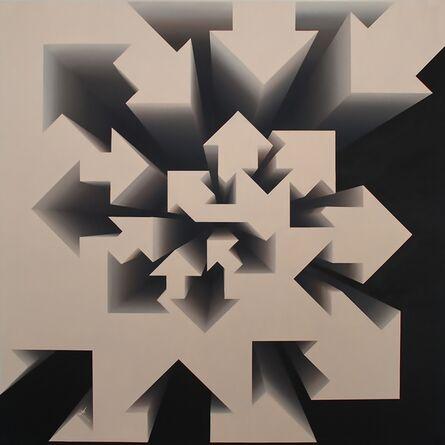 Lakshmi Mohanbabu, 'Fibonacci Nautilus - Beige', 2017