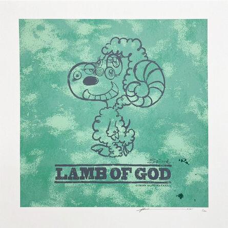 """Yuta Hosokawa, 'LAMB OF GOD """"GREEN""""', 2021"""