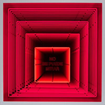 Iván Navarro, 'No Se Puede Mirar', 2013
