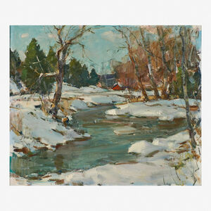 Carl Peters, 'The Bend in the Stream, NY State'