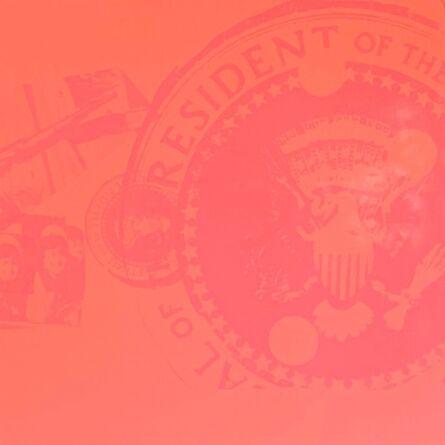 Andy Warhol, 'Flash, Orange Presidential Seal (Rare Trial Proof)', 1968