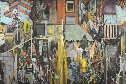 Rodel Tapaya: Urban Labyrinth
