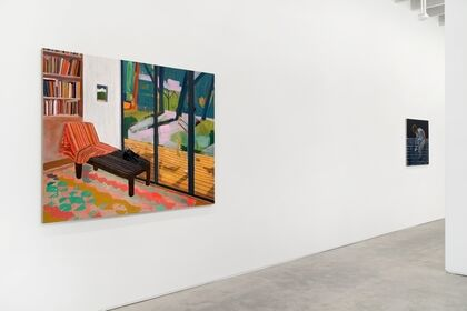 Ezra Johnson: Paintings From A Room