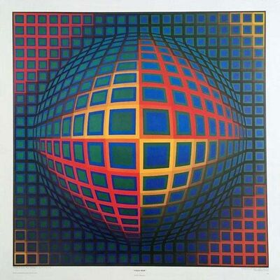 Victor Vasarely, 'VEGA NOR', ca. 1980