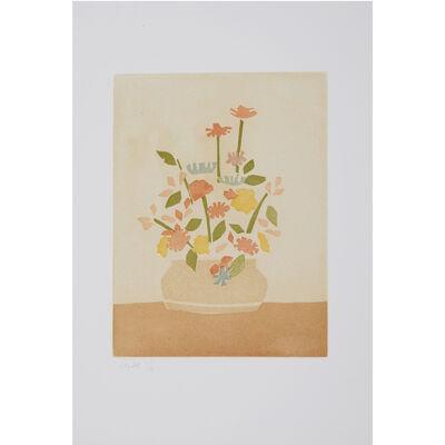 Alex Katz, 'Wildflowers in a Vase (Small Cuts)', 2008