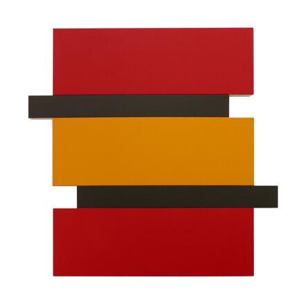 Scot Heywood, 'Stack – Red, Yellow, Black', 2016