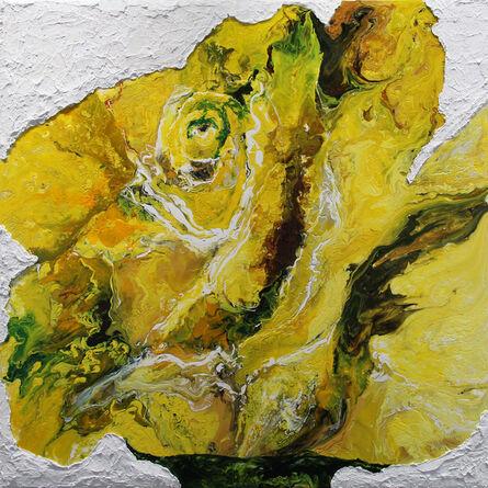 Haleh Mashian, 'Yellow Rose', 2018