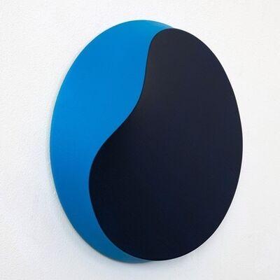 Jan Kaláb, 'Melted Circle Blue', 2020