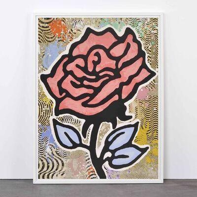 Donald Baechler, 'Red Rose', 2005