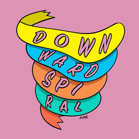 Molly Goldfarb, 'Downward Spiral', 2018
