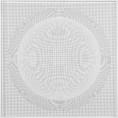 Hector Ramirez, 'Esfera de Nucleo Espacial Blanca', 2014