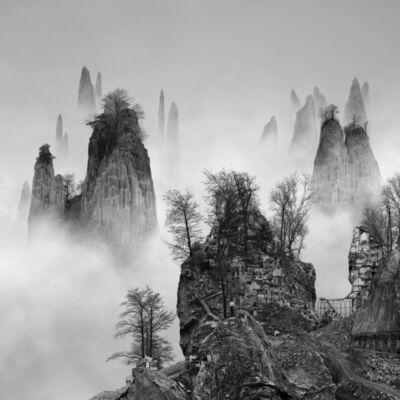 Yang Yongliang 杨泳梁, '太古蜃市 - 小径 Time Immemorial - The Path', 2016