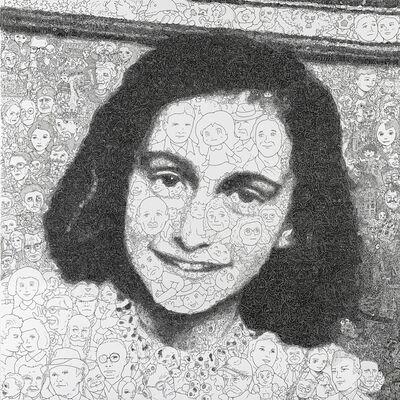 Keita Sagaki, 'Hystorical Portraits vol. 10 - Anne Frank', 2020
