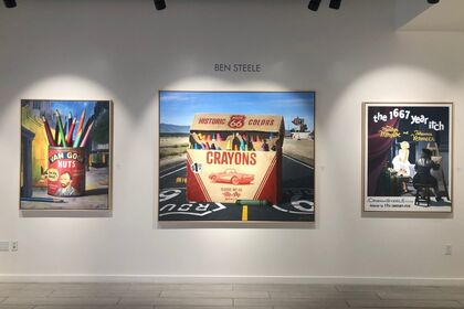 Ben Steele New Exhibition