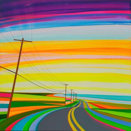 Grant Haffner, 'Sunset on Old Montauk Highway', 2017