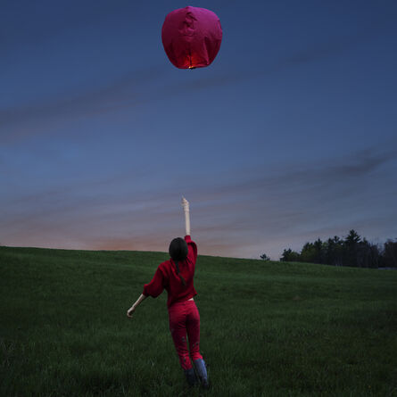 Cig Harvey, 'Sky Lantern, Rockport, Maine', 2017