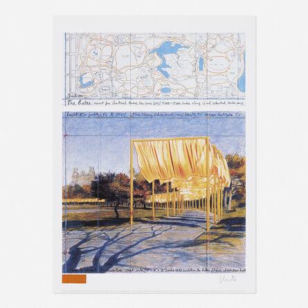Christo, 'The Gates, Central Park, New York', 2004