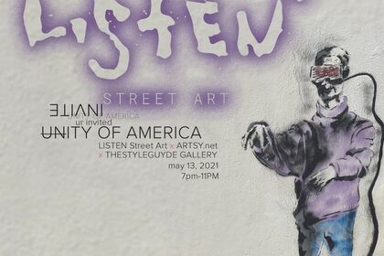 [U]nity of America by LISTEN STREET ART
