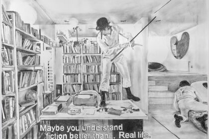 Maybe you understand fiction better than... real life