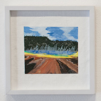 Erika Duque, 'Yellowstone (grand prismatic)', 2016
