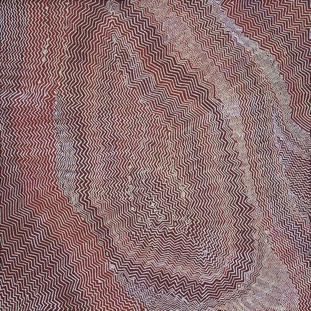 Bobby WEST TJUPURRULA, 'Mantja (Moon Rock)', 2014