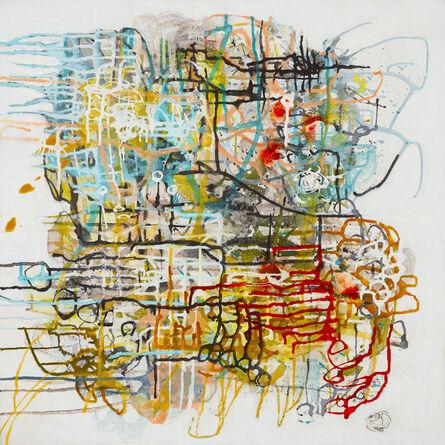 Barbara Fisher, 'Tangled Mapping V', 2019