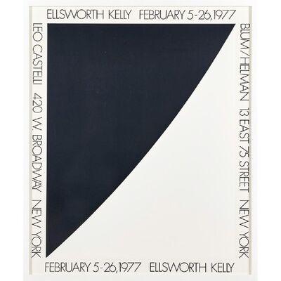 Ellsworth Kelly, 'Vintage Leo Castelli Blum/Helman Gallery Poster', 1977