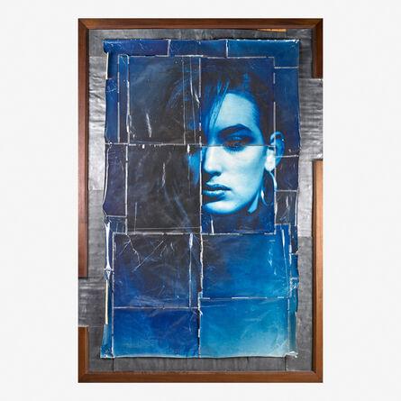 Doug & Mike Starn, 'Blue Lisa', 1987