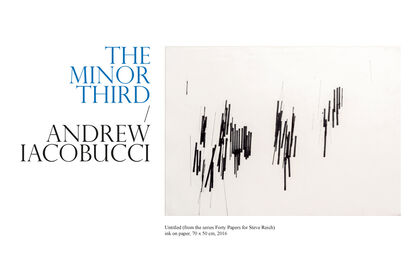 THE MINOR THIRD / ANDREW IACOBUCCI