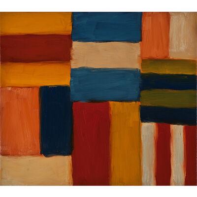 Sean Scully, 'Cut Ground Orange Pink 6.11', 2011