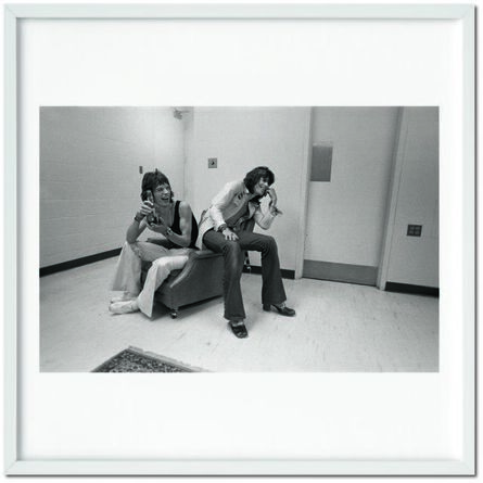 """Ethan Russell, 'The Rolling Stones. Art Ed. Russell, Mick and Keith """"Laugh,"""" 1972', 1972"""