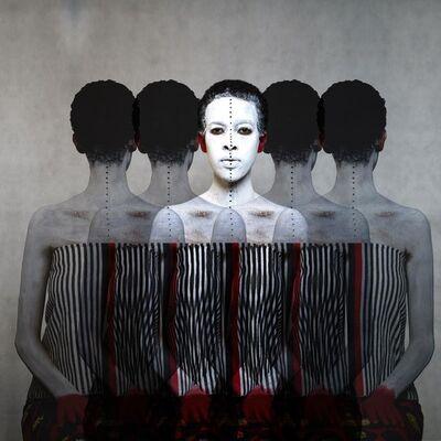 Aida Muluneh, '99 Series (Part Three)', 2014