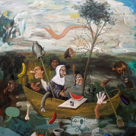 Matías Sánchez, 'La nave de los locos', 2017