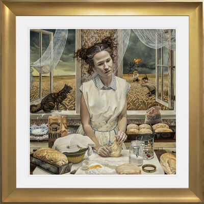 Andrea Kowch, 'In the Distance, Limited Edition Hand Signed Print - SOLD OUT', 2015