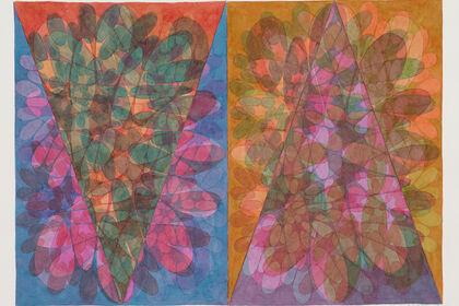 Michael Knutson - Shifting Layered Fields - Recent Watercolors