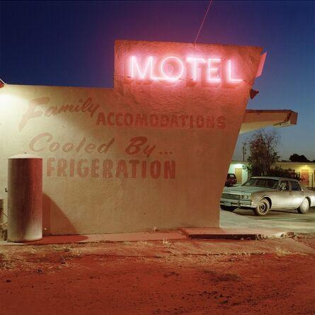 Jeff Brouws, 'Motel Drive, Fresno, California', 1991