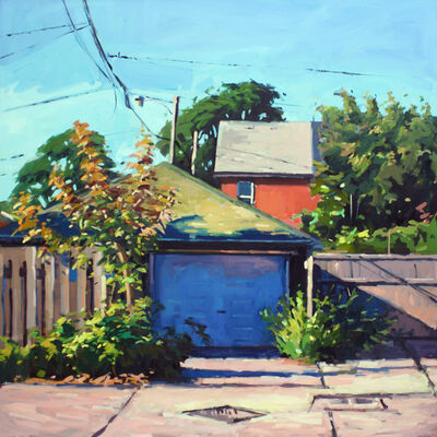 Brian Harvey, 'Red House', 2017
