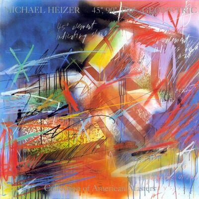 Michael Heizer, '45, 90, 180 Geometric', 1987