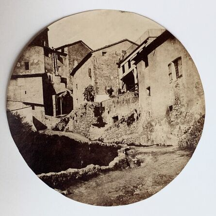 Charles Nègre, 'Une rue à Grasse', ca. 1852