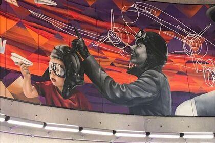 Conoce Aquí el Nuevo Mural de J ALME YUTRONIC
