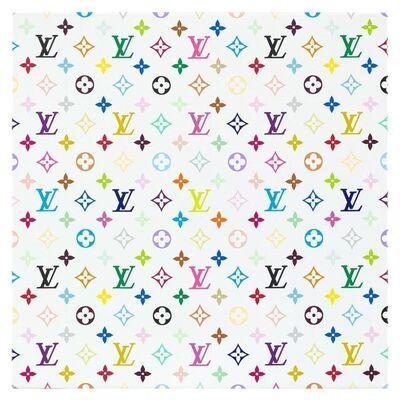 Takashi Murakami, 'Takashi Murakami x Louis Vuitton Monogram Multicolore - White (Limited Edition and Signed)', 2007