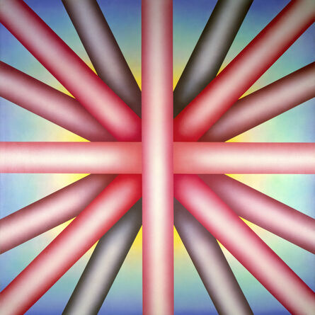 Judy Chicago, 'Heaven is for White Men Only', 1973