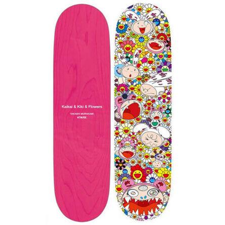 Takashi Murakami, 'Kaikai and Kiki skateboard', 2018