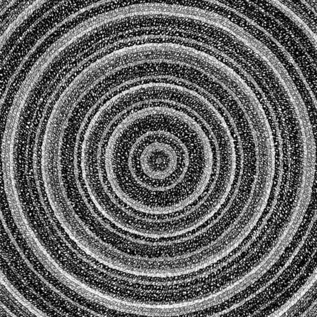 """James Vance, '""""Concentric Ink 3""""', 2019"""